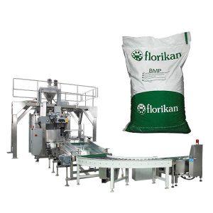 Máquina de embalagem maioria automática para o pó de leite em sacos de 10kg 25kg