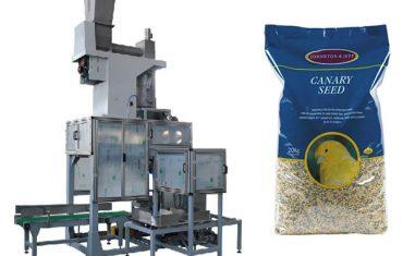 20 kg de sementes de grão aberto ensacamento e saco de enchimento balança