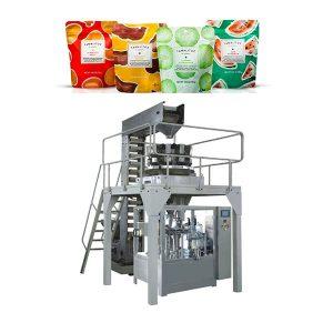 Máquina de embalagem automática de enchimento para saco com zíper