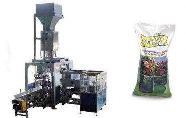 máquina de embalagem automática do saco químico do saco 50kg automático