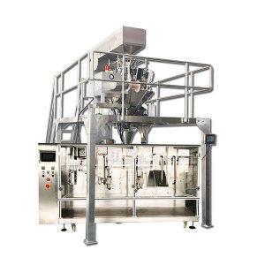 Máquina de embalagem granular pré-fabricada horizontal automática