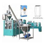linha de embalagem de saco de papel automática para farinha