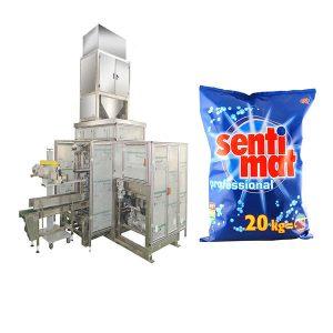 Detergente grande aberto automático da boca do pó da máquina de embalagem do saco de Premade