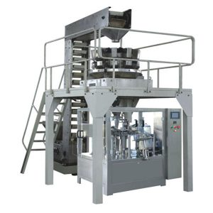 Linha de produção de enchimento e selagem automática pesando premade grânulo