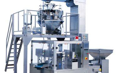 máquina de empacotamento giratória automática do malote do zíper do alimento do feijão de café