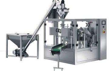 máquina de embalagem de enchimento do pó da especiaria giratória automática