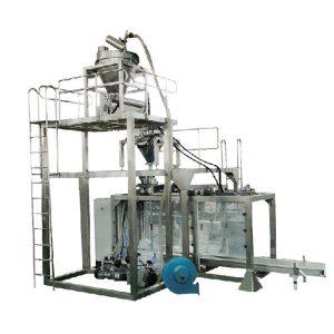 Pó automático do saco grande que pesa a máquina de embalagem do pó de leite da máquina de enchimento