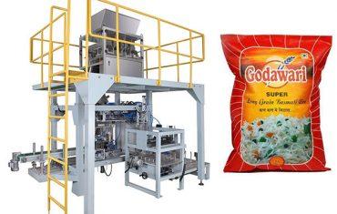 máquina de empacotamento pesada granular do saco grande do saco para o arroz