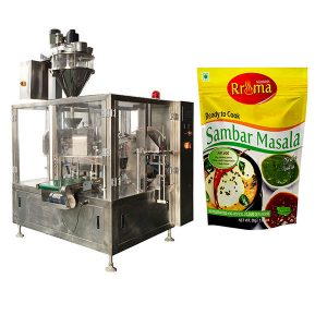 Máquina de embalagem de pó de pimenta