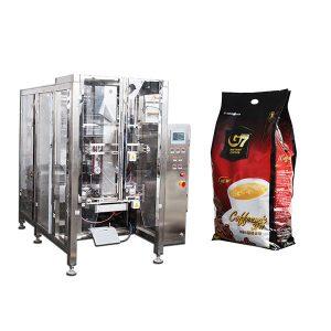 Máquina de embalagem de saco de café Quad Form Fill Seal