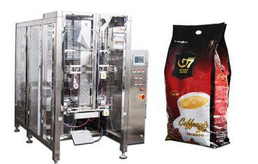 máquina de empacotamento automática do copo do saco do selo do quadrilátero máquina de enchimento volumétrica do copo