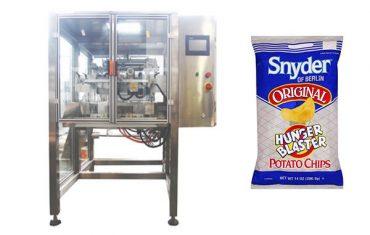 máquina de embalagem vertical do grânulo do alimento de petisco do movimento contínuo
