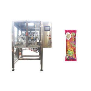 máquina de enchimento e selagem de formação vertical de movimento contínuo