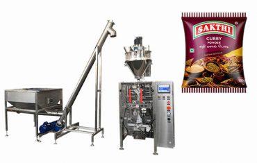 Máquina de empacotamento do pó de caril 100g-500g