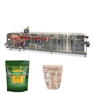 Doypack pó granulado embalagem forma horizontal preencher máquina de vedação