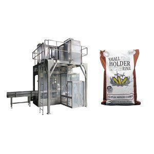 Máquinas de embalagem e ensacamento de ração