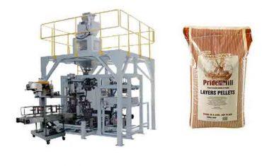 máquina de embalagem pesada do saco do grânulo da grão da alimentação