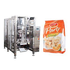 Máquina de embalagem de saco de selos de comida automática completa