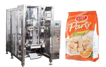 máquina de embalagem automática completa do saco do selo do quadrilátero do alimento