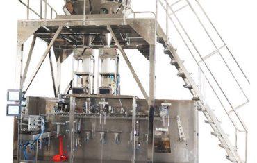 máquina de embalagem pré-fabricada horizontal com pesador multihead