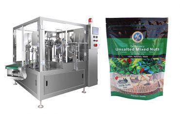Máquina de embalagem de saco pré-fabricada rotativa inteligente