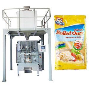 Linear pesa máquina automática de embalagem de aveia