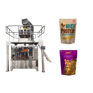 Máquina de embalagem de enchimento automática do malote do zíper das porcas