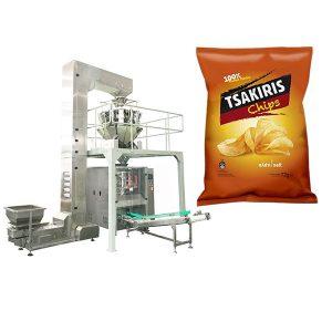 Máquina de embalagem de batatas fritas