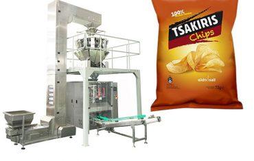 72g batata frita máquina de embalagem de lanche