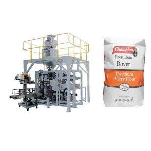 Máquina de embalagem grande do saco da farinha da máquina de ensaque 20kg do pó com máquina da selagem