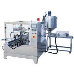 máquina de embalagem de líquido e pasta premade