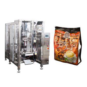 Máquina de embalagem de saco de vedação de quádruplo