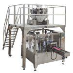 Saco de zíper automático rotativo preencher máquina de embalagem de vedação para nozes sementes
