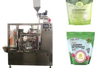 máquina de embalagem do malote giratório líquido da lavanderia