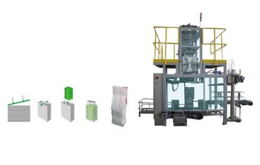 saco de embalagem secundária polywoven saco máquina de embalagem