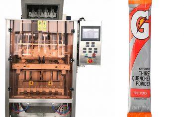 saquinhos pequenos powde máquina de embalagem multi-line