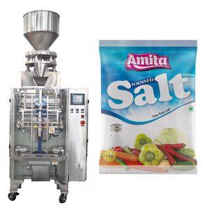 Máquina de embalagem de sal saquinho automático vertical