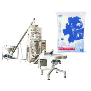 Máquina vertical do selo da suficiência do formulário com o copo volumétrico para o sal