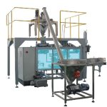 máquina de empacotamento tecida automática do saco de ztcp-25l para o pó
