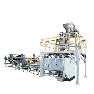 Máquina de embalagem tecida automática do saco de ZTCP-50P para o pó
