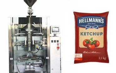 500g-2kg ketchup molhos máquina de embalagem
